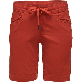 Black Diamond Credo Pantaloncini Donna, burnt sienna